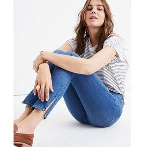 "Madewell 9"" High-Rise Side-Slit Skinny Jeans-31"